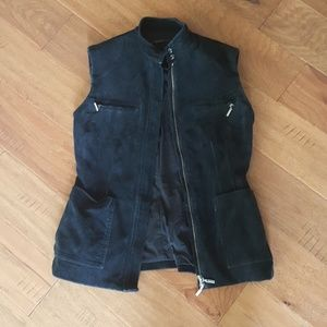 Elie Tahari Corduroy Vest